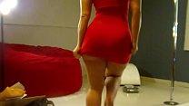 Phat ass in red dress (virgoperidot)