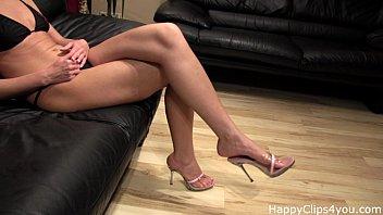 Jenna Foxxx barefoot foot fetish promo video