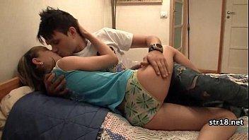 Hot Romantic Amateur Fuck On Bed