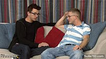 Married guy in glasses gets fucked well