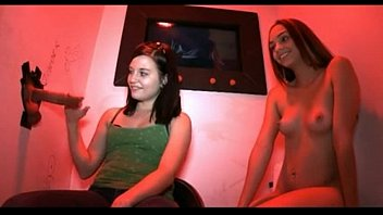 Two Girls First Time Visit At Gloryhole