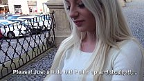 Dude picked up blonde in public and fucked her
