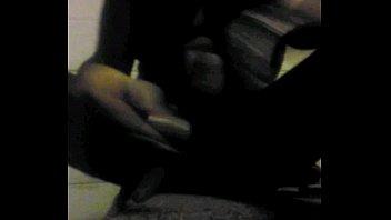 Black Tranny Masturbates In Open Apartment Staircase To Be Voyeuristic