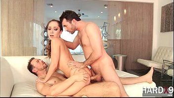 Pretty pixie Remy appreciates hot DP with the big cock guys