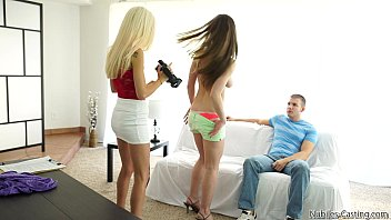 Porn audition leads to hot threesome