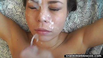 Busty slut Bonnie Shai blows a nice cock
