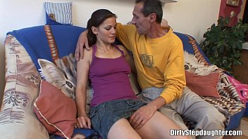 Big Cock Skinny Stepdad Inside My Tight Pussy