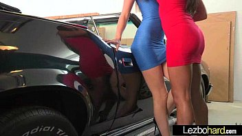 Cute Lovely Lesbos Have Fun On Camera vid-30