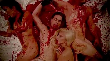 Lady Gaga & Matt Bommer b. Orgy American Horror Story Hotel