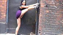 Amateur babe Carmels public masturbation and outdoor flashing of naughty exhibit
