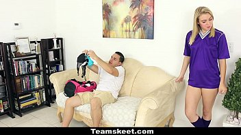 CFNMTeens - Soccer Babe (Cali SParks) Gets Fucked With Her Panties On
