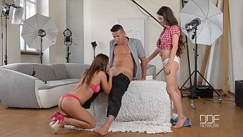 Anal and Beyond - Assistant seduces model and photographer