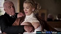 Lovely Hot Milf Banged By Huge Cock On Tape video-02