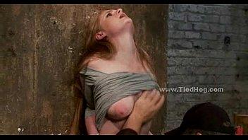 Blonde immobilized on bondage device (Stop jerking off! Visit RealOne24.com)