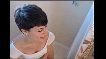 dirty short hair girl in the shower show on webcam - s333.tk
