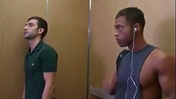 Fucking on the elevator