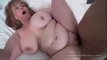 BBW takes BBC in this Amateur Mom Video