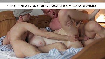 Titty czech girl is nasty fucked by big dicks