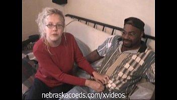 Black on Blonde Amateur Threesome Part 2