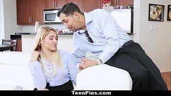 TeenPies - Horny Girlfriend (Kimmy Fabel) Wants Creampie