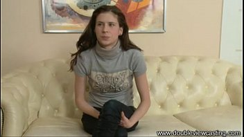 DOUBLEVIEWCASTING.COM - ALEXANDRA IS TURNED ON QUICKLY