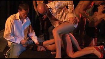 Submissive Cecilia Vega anal in b. orgy