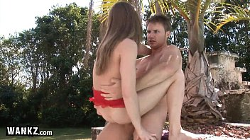 18 Year Old Stripper Gets Fucked In The Park!