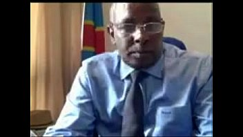 Congolese Minister Masturbating on Live Chat
