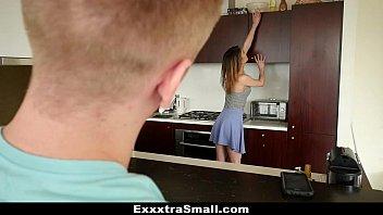 ExxxtraSmall - Tiny Teen Slut (Kristen Scott) Takes Huge Cock