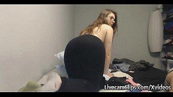 Amateur Cam Nerdy Teen Got Nice Big Titties