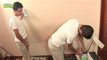Latino Twinks Paint Job 1