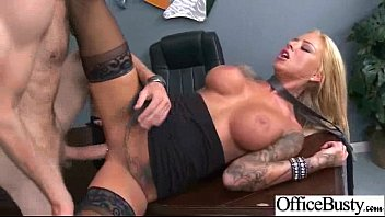 Big Round Boobs Girl (britney shannon) Get Hard Style Bang In Office mov-09