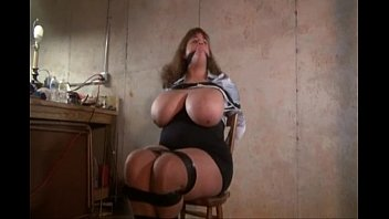 huge tits bdsm - bound and tied