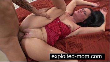 Nasty mom fucking black dick