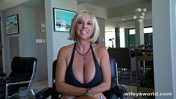 Huge Titty MILF Gets Big Cum Blast Facial