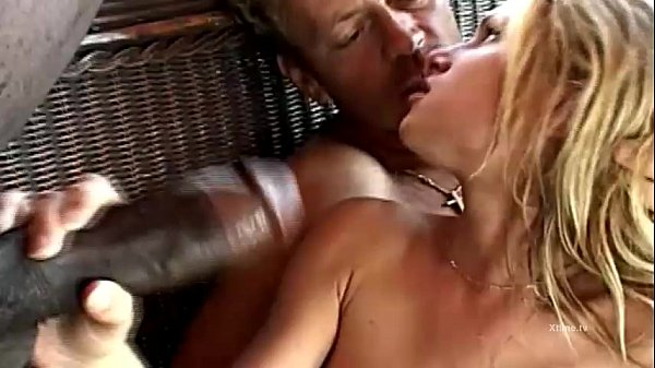 Rocco Siffredi bangs a young blonde in white stocks