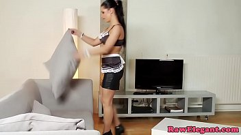 Busty maid analfucked deeply with bbc