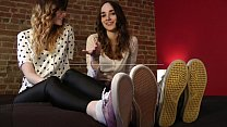 Mikaila & Nina's Feet in Your Face - www.clips4sale.com/8983/15982558
