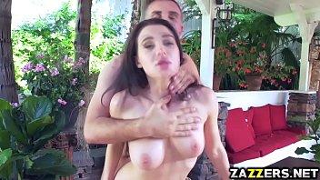 Lana Rhoades fuck sideways by Keiran Lees hungry cock