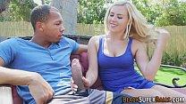 Babe interracially rammed 7 min