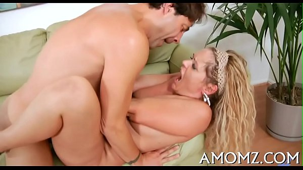 Mom entreats for cock in her twat 5 min