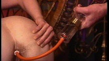 1h1f vintage syringe hairy  enema expulsion