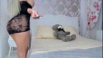 Hot Blonde In Heels Toys Ass - HornySlutCams.com