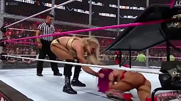Sasha Banks Hot Ass WWE Hell in a cell 2016 16 sec