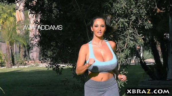 Huge boobs pornstars chasing that big D after jogging 7 min