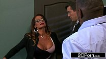 Bitchy Boss Tory Lane Offers Her Sexy Body as a Christmas Bonus