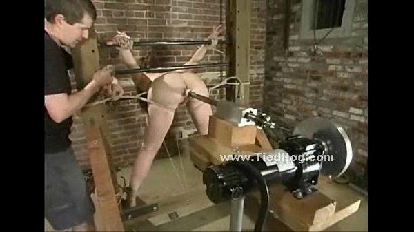 Slut with big tits in bdsm fetish sex (Stop jerking off! Visit RealOne24.com)