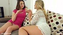 Jemma Valentine and Tiffany Doll in fisting lesbian scene by FistFlush