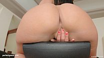 Super hot solo girl Athina masturbating on Give Me Pink gonzo style
