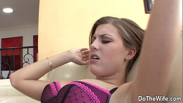 Husband fucks hot girl in front of his wife